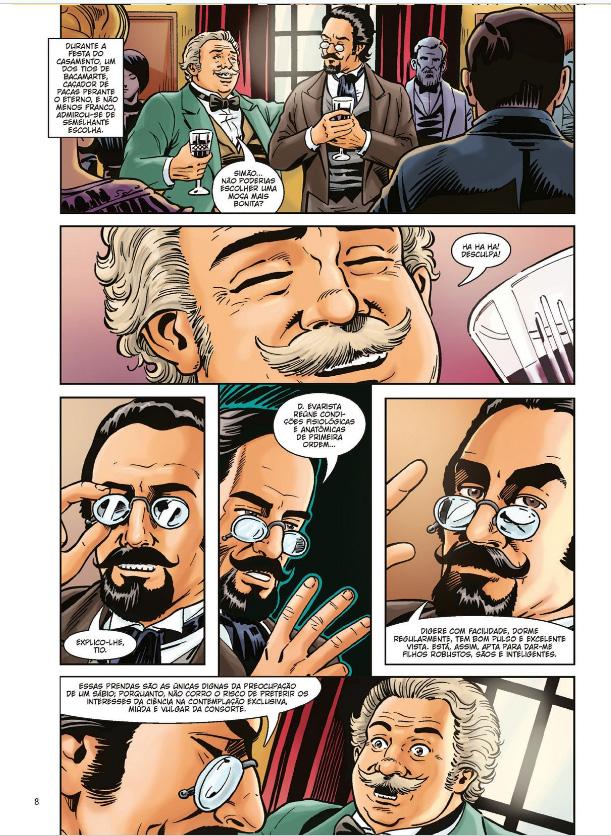 O Alienista - Em Quadrinhos   Omar Viñole